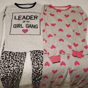 2 sets of pajamas